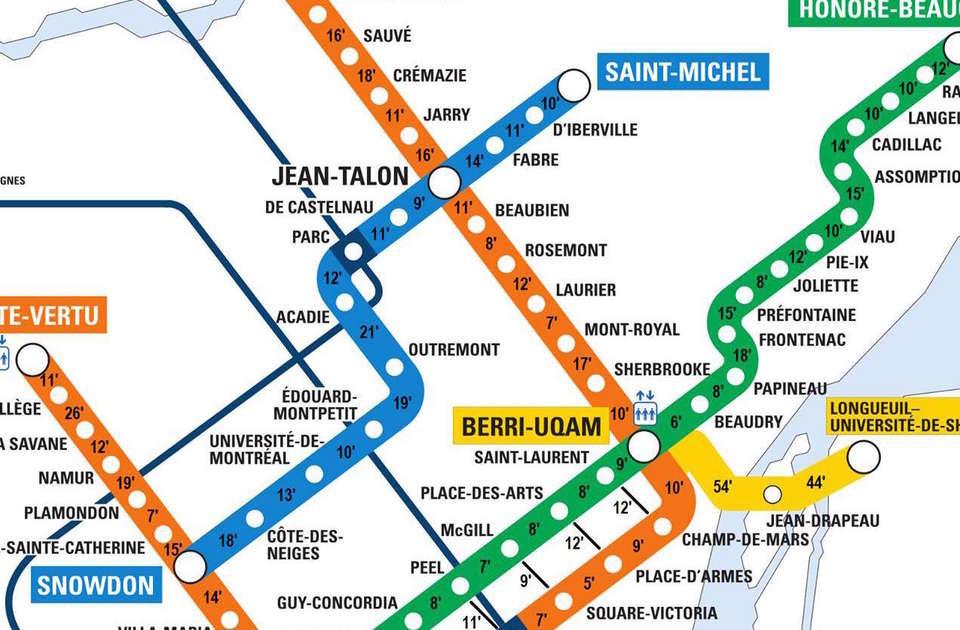Première escapade en métro