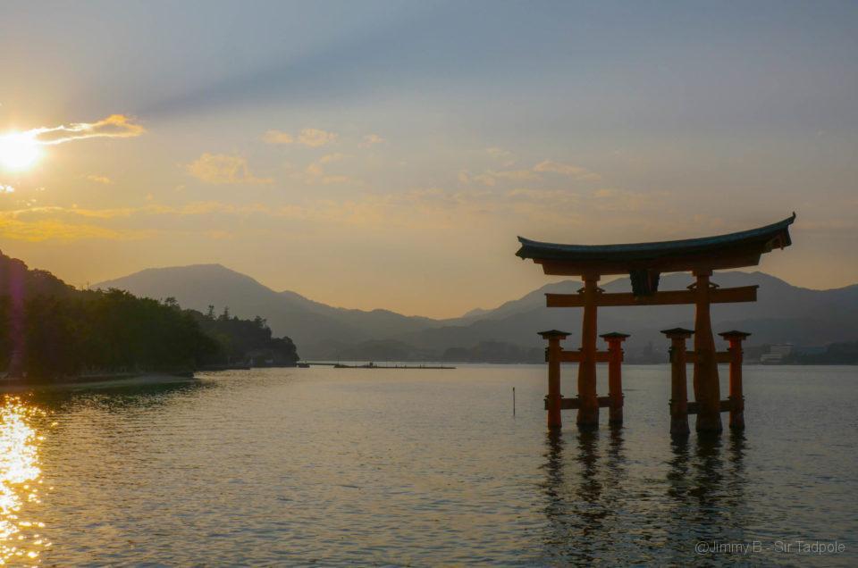 Une nuit sur l'île de Miyajima