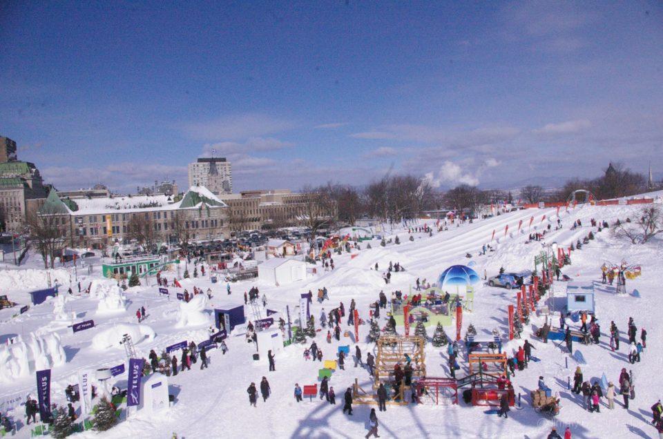 Québec – Le carnaval d'hiver