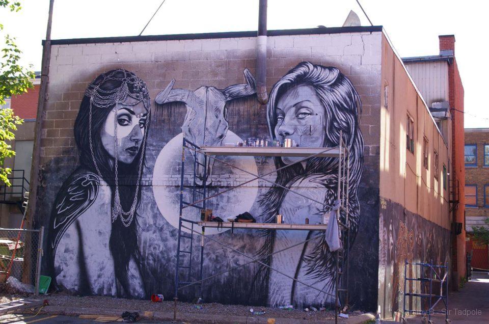 Festival mural - Boulevard St Laurent